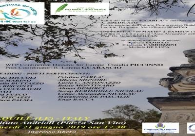Festival mondiale della Poesia: appuntamento a Lequile