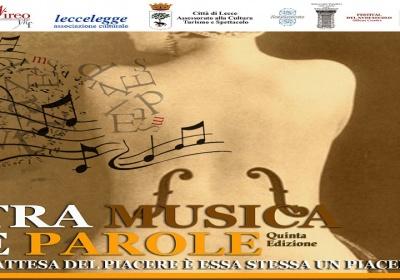"""""""Tra musica e parole"""", quinta edizione"""