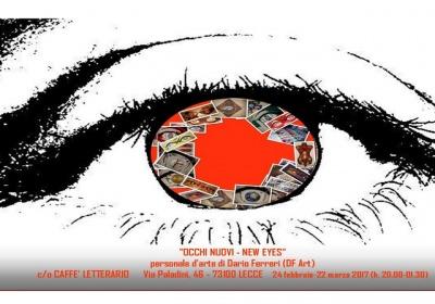 ''Occhi Nuovi - New Eyes'': le opere di Dario Ferreri in mostra presso il Caffè Letterario