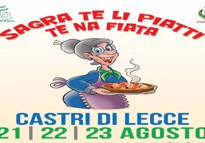 A Castrì di Lecce: sagra te li piatti te na fiata