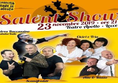 """Al via la prevendita di """"Salent Show"""", lo spettacolo del buon umore made in Salento"""