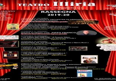 Teatro Illiaria di Poggiardo, rassegna teatrale 2019/20