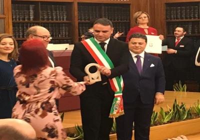 Premio ''100 Ambasciatori Nazionali'' per il Sindaco e il Comune di San Donato di Lecce