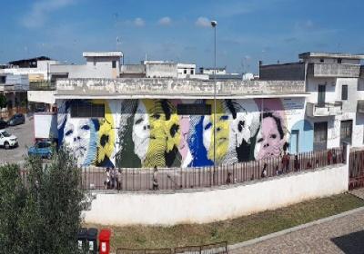 Inaugurato a Lequile il murales dedicato a Renata Fonte