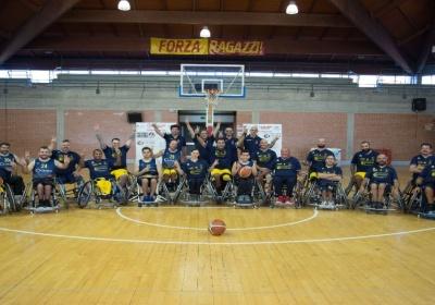Basket in carrozzina, Serie B: la Lupiae Team Salento concede il bis. Battuto anche il Palermo