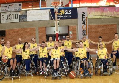 Basket in carrozzina, Serie B: nel girone C è sfida per il primato fra il Lecce e il Rieti. Sabato il big match