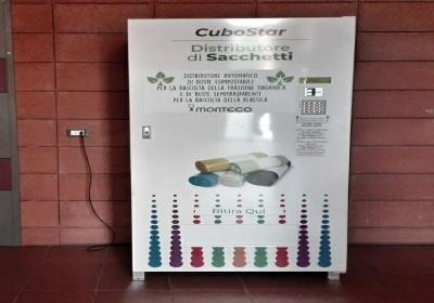 Attivo il nuovo distributore automatico di sacchetti per la raccolta differenziata