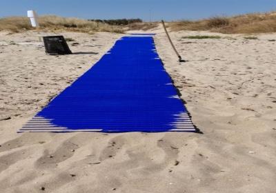 Estate 2021, spiagge leccesi: dove trovare le pedane mobili